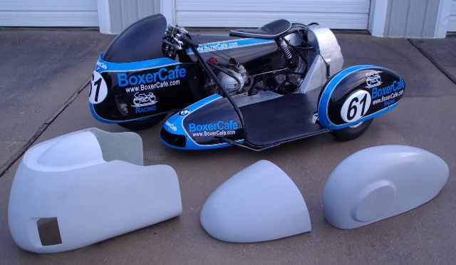 Sidecar Racer Parts